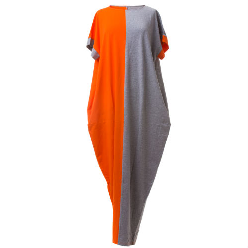 dress orange grey